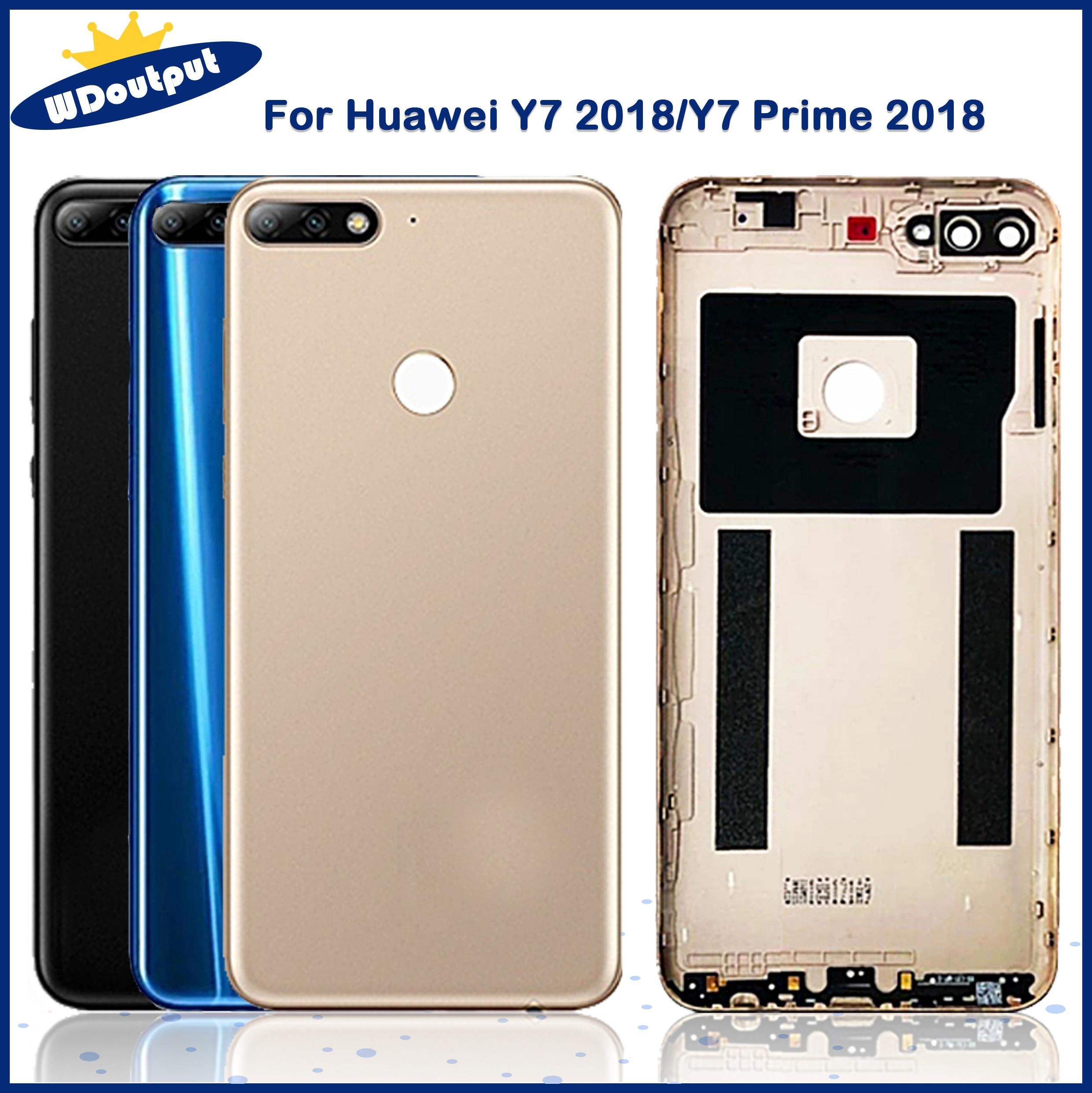 الأصلي لهواوي Y7 2018 / Y7 Prime 2018 / Y7 برو 2018 عودة غطاء البطارية الإسكان استبدال أجزاء