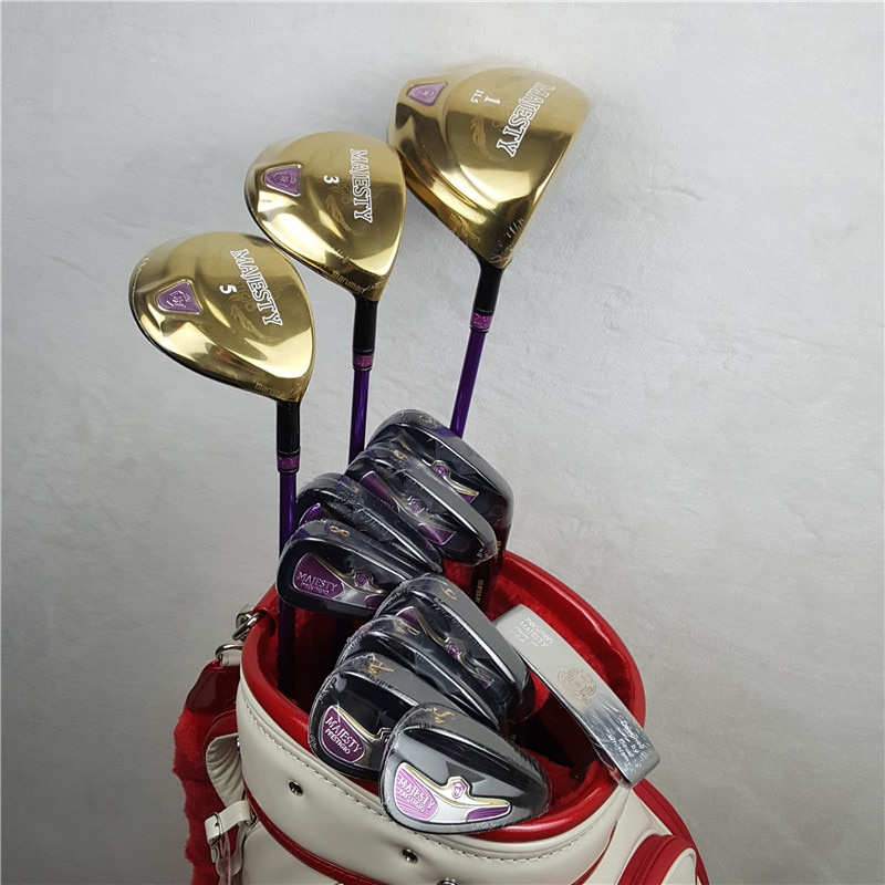 Brand New Women's Golf Club set Maruman Majesty Prestigio 9 Golf Full 11.5 Loft Club Graphite Golf Shaft L Flex (No Bag)