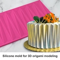 origami silicone mold chocolate sugarcraft lace mat diy buttercream candy cake mould cake decorating tools baking accessories%c2%a0