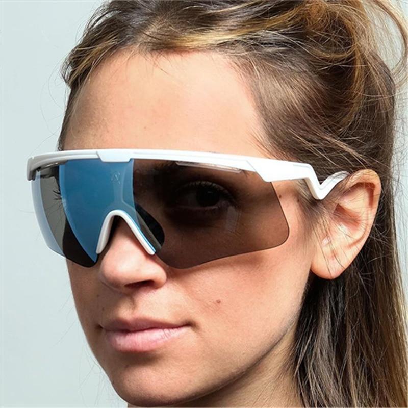 ألبا البصريات الاستقطاب الدراجات نظارات الرجال النساء الرياضة نظارات الطريق الجبلية دراجة دراجة نظارات شمسية gafas oculos ciclismo