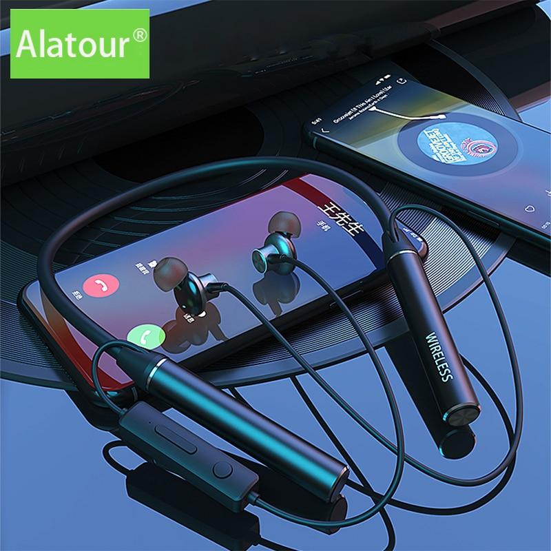 TWS Wireless Bluetooth Earphones Magnetic Sports Running 100Hours Headset Waterproof Sport earbuds Noise reduction Headphone