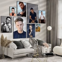 liam payne portrait british singer poster and prints canvas art painting wall picture modern bar home decoration
