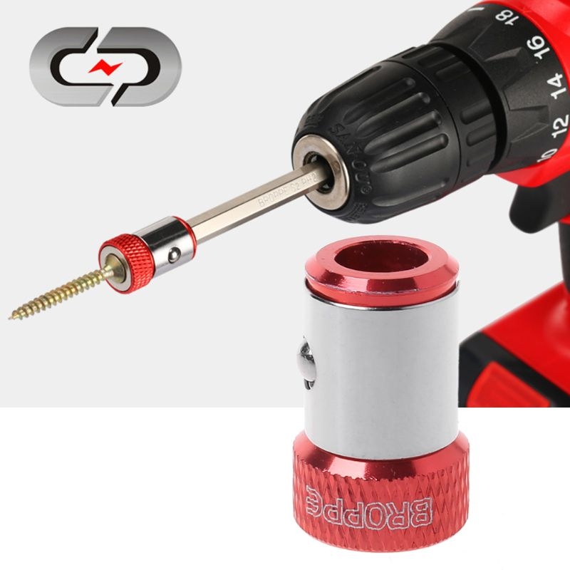 1 шт. Отвертка магнит кольцо 1% 2F4% 22 6,35 мм металл прочный намагничивание винт для шестигранник отвертка биты