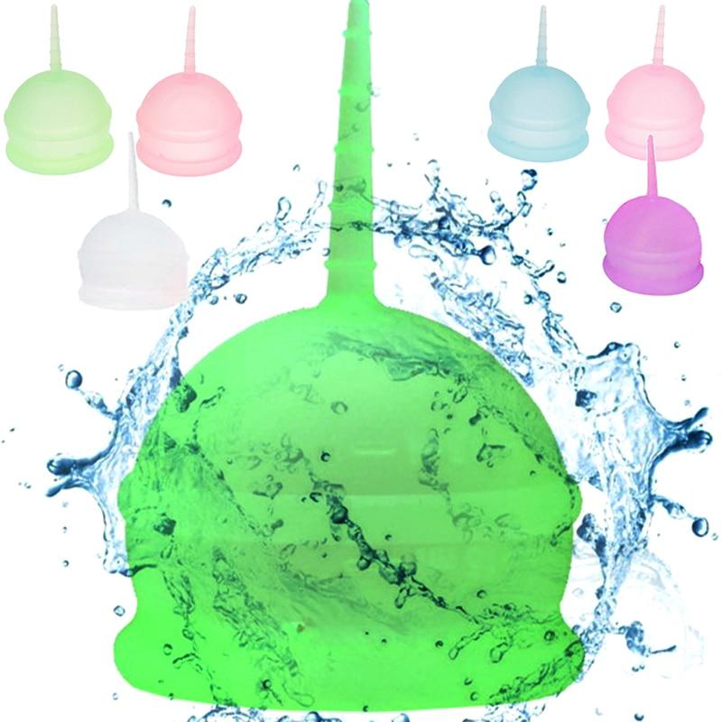 Coupe menstruelle ronde en Silicone réutilisable, hygiène féminine, prévention des fuites latérales, soins menstruels
