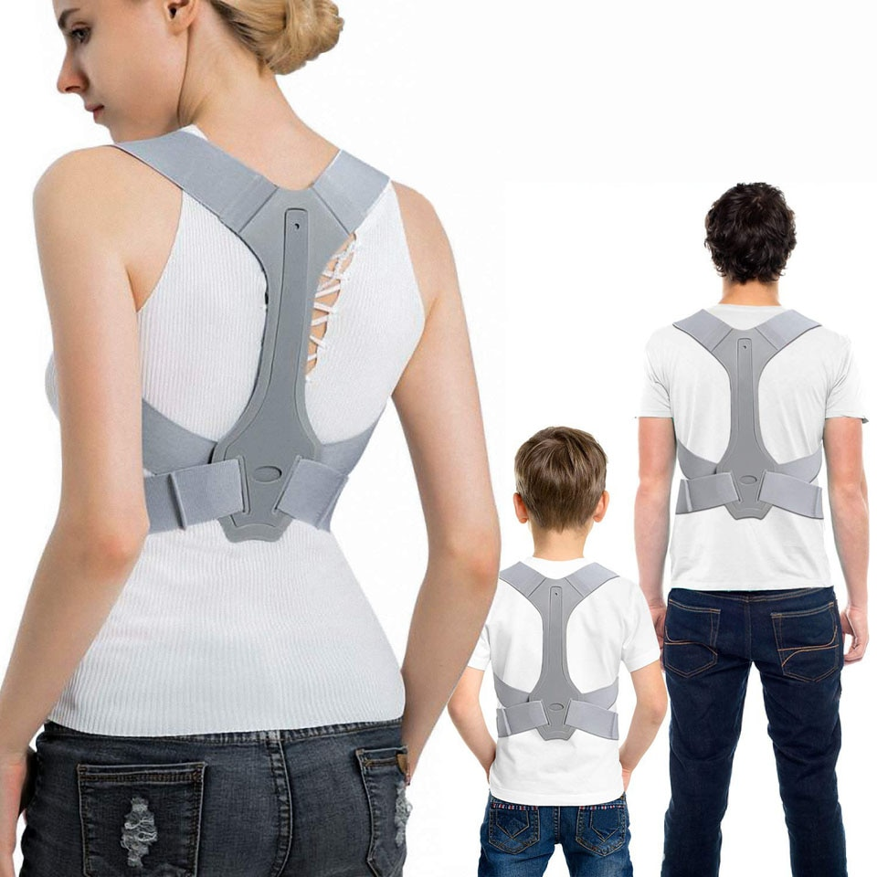 Posture Corrector for Men and Women Adjustable Upper Posture Brace for Support Providing Shoulder-Ne
