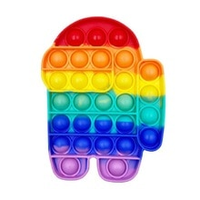 Pop It Fidget Toys Anti Stress Brain Game Parent-Child Interaction Exercise Thinking Silicone Waterp