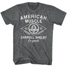 Carroll Shelby Original American Muscle Cars MenS T Shirt Vintage Racing 1962 U Tee Tshirt Tee Shirt