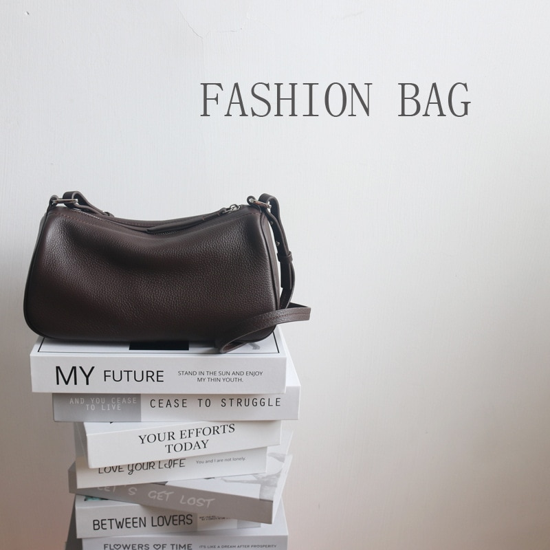 SIKUWomen bag genuine leather women shoulder bags brand messenger bag women handbag