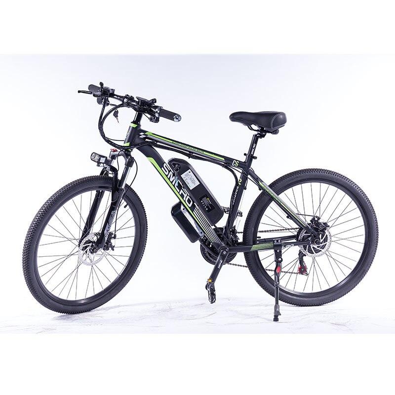 C6 f 48v 350w bicicleta elétrica de alta velocidade elétrica bicicleta elétrica e mountain bike com bateria de lítio para adultos