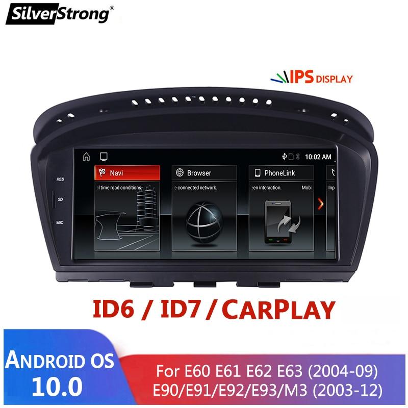 4GB/64GB ، 4G الإنترنت ، CarPlay E60 أندرويد ، لسيارات BMW 525 530 ، E60 E61 E63 E64 E90 E91 E92 ، CCC CIC ، دعم id5v