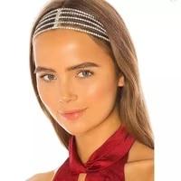 fashion exquisite luxury crystal headband hair band sweet bride european and american jewelry shining rhinestone hair accessorie