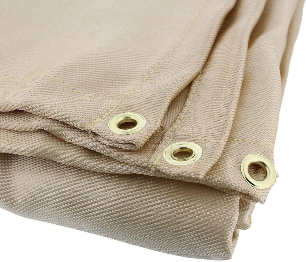 Heavy-Duty Fiberglass Fire Retardant Blanket Small Welding Fireproof Thermal Resistant Insulation