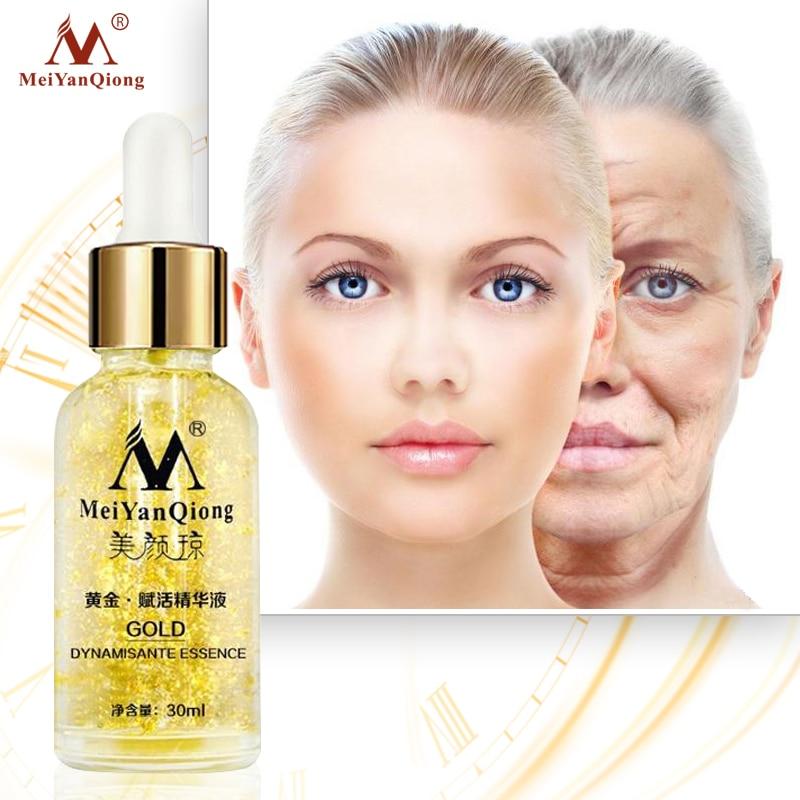 Hautpflege 24K Gold Essenz Tag Creme Anti Falten Gesicht Pflege Anti Aging Kollagen Bleaching Feuchtigkeitsspendende Hyaluronsäure Ance