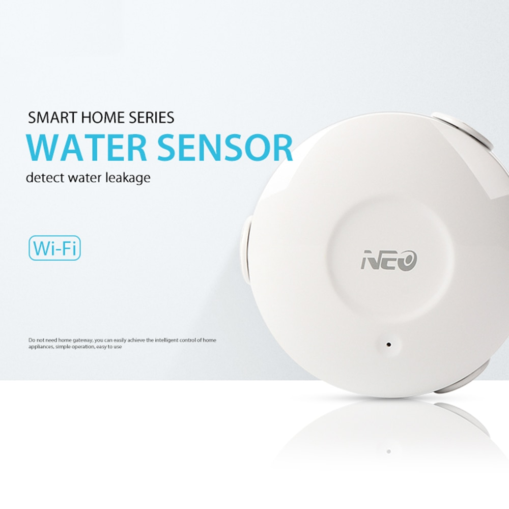 NEO Coolcam Home Alarma de Sensor de movimiento Detector de fugas de agua inundación de agua inalámbrico WiFi sistema de automatización de seguridad Sensor