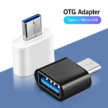USB Type C OTG Adapter Micro USB Male To USB Female Cable Converters For Macbook Samsung Xiaomi Type