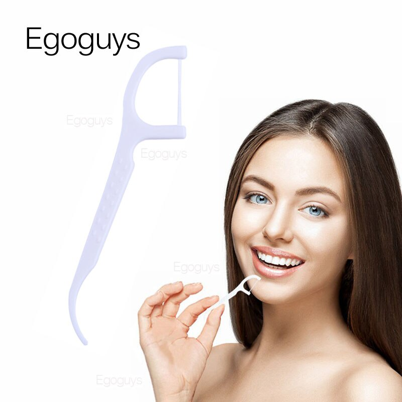 100 Pcs Lot Disposable Dental Flosser Interdental Brush Teeth Stick Toothpicks Floss Pick Oral Gum Teeth Cleaning Care Dental Flosser Aliexpress