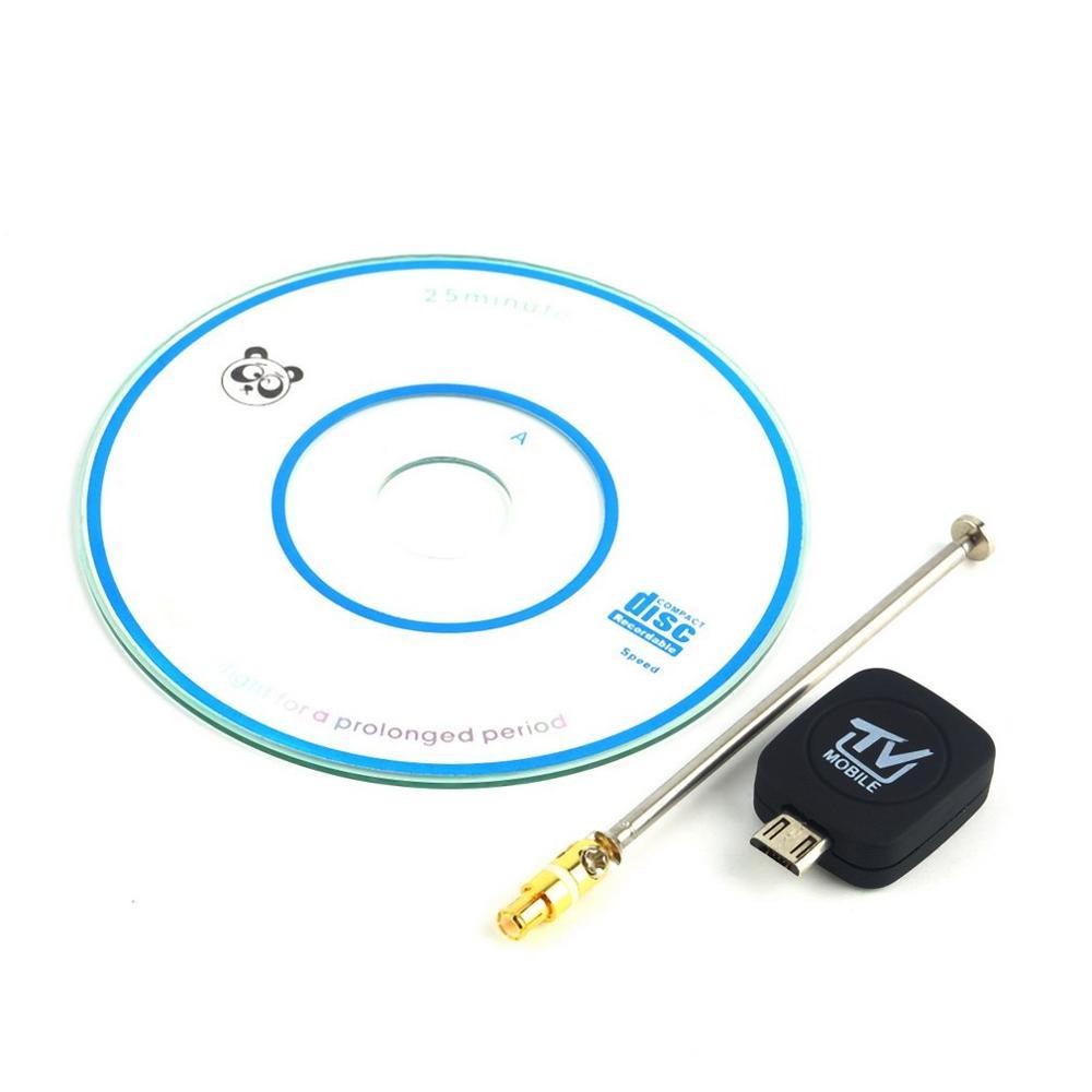 Mini Micro USB DVB-T entrada Digital TV móvil sintonizador receptor para Android 4,1-5,0 EPG compatible con la recepción de HDTV