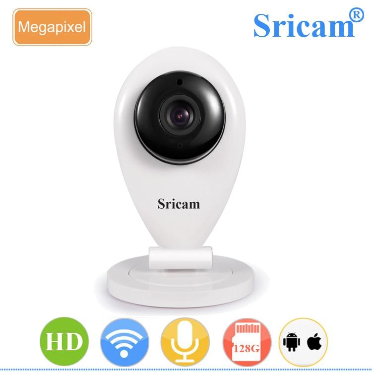 الجملة Sricam SP009A 720P HD IR-CUT للرؤية الليلية 8m اتجاهين فيديو كاميرا مراقبة صينية صغيرة