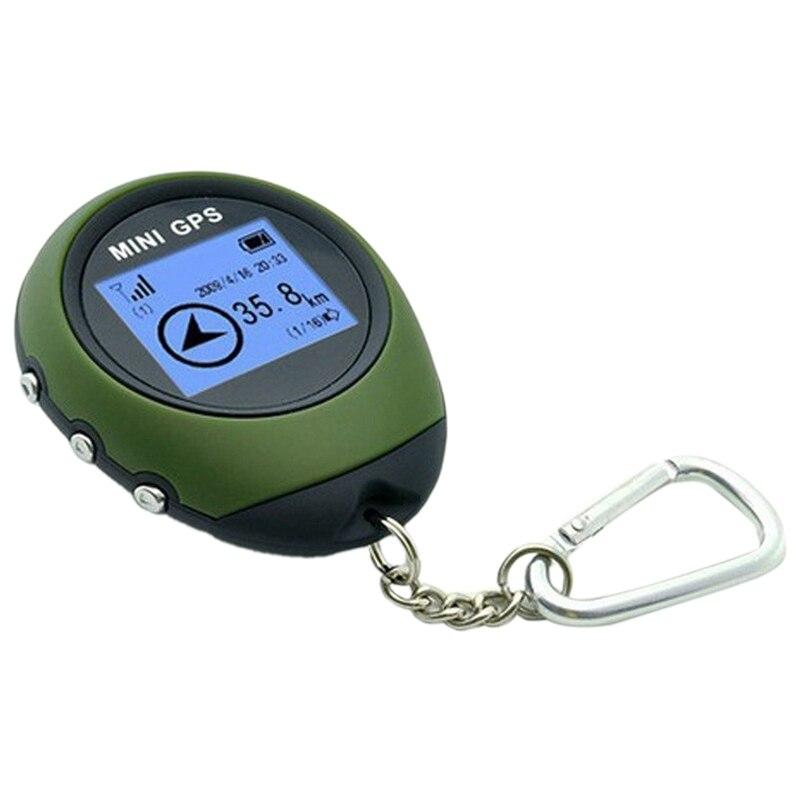 Mini GPS navegador receptor rastreador registrador USB recargable de mano localización buscador seguimiento para viajero