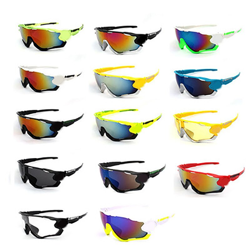 2021 unisex multicolor bicycle glasses mountain bike bicycle sports bicycle sunglasses mountain bike