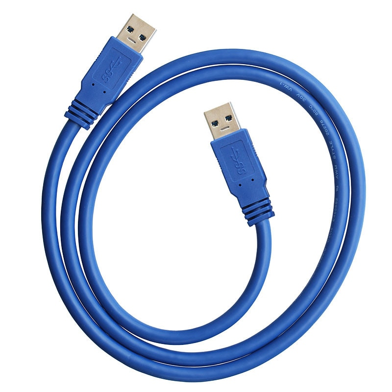 Cable de extensión USB 3,0 A macho para radiador, disco duro USB...