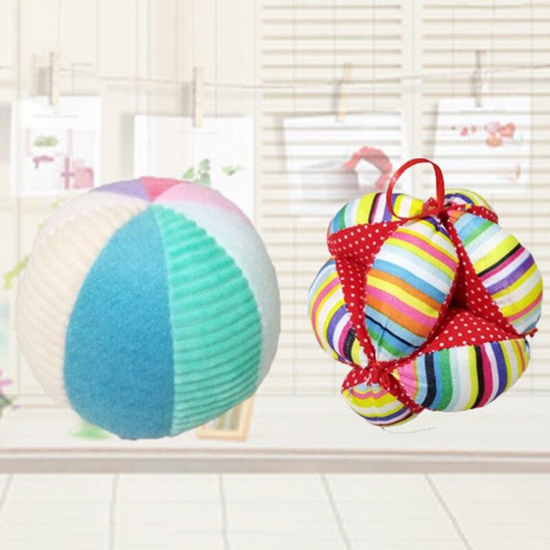 Juguetes para bebés de 0 a 12 meses, pelota de animales de peluche suave, juguetes móviles para bebés, pelota para atrapar a mano, Bola de construcción de cuerpo, juguetes educativos para recién nacidos