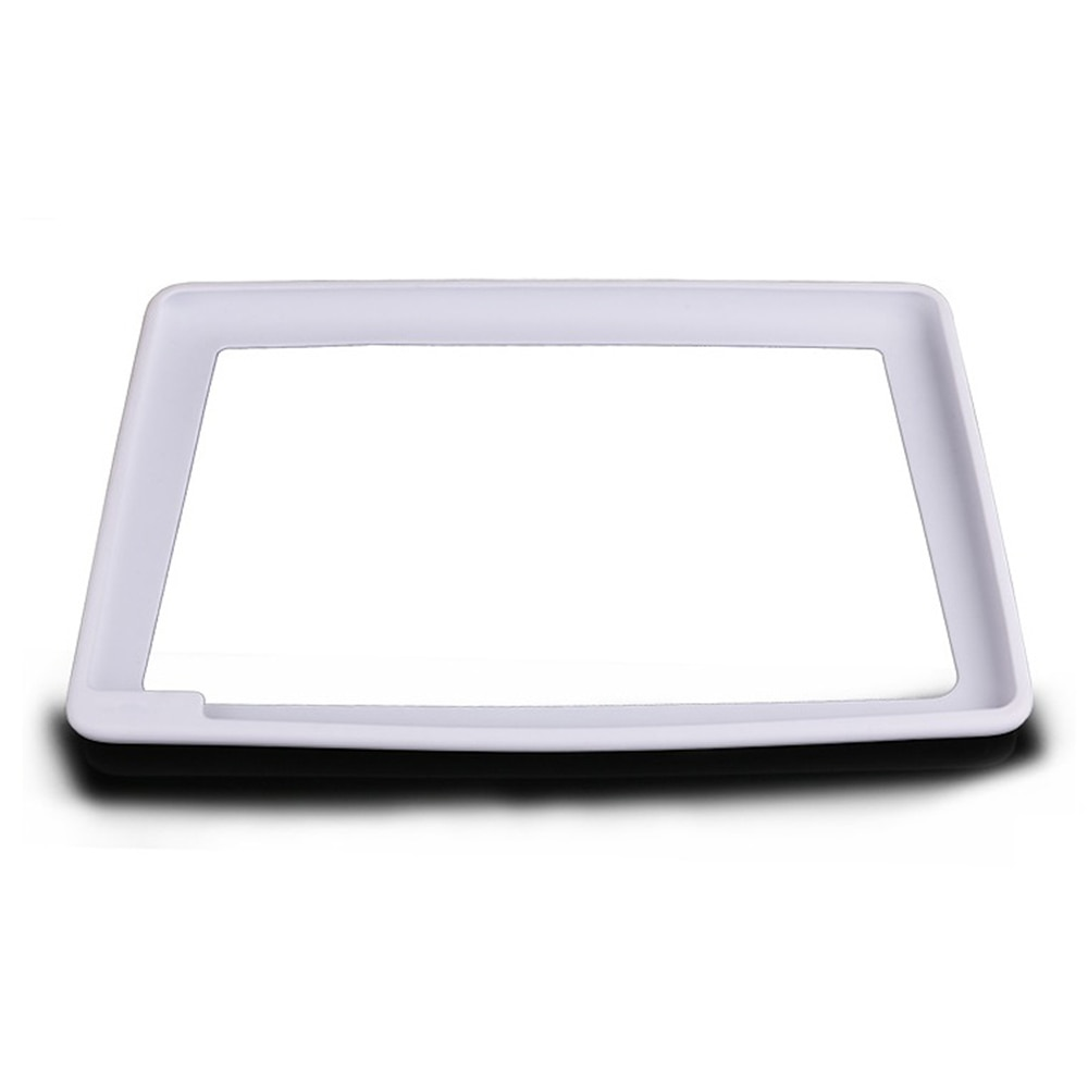 Sunshade Screen Protector For Tesla Model 3 Y 2017-2021 Silicone Center Control Display Dust Cover Frame Car Accessories