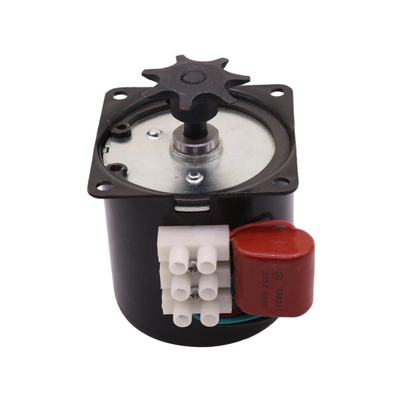 Motor síncrono permanente controlável da engrenagem do motor de gerencio 220 v ou 110 v do ovo da incubadora de 2 pces