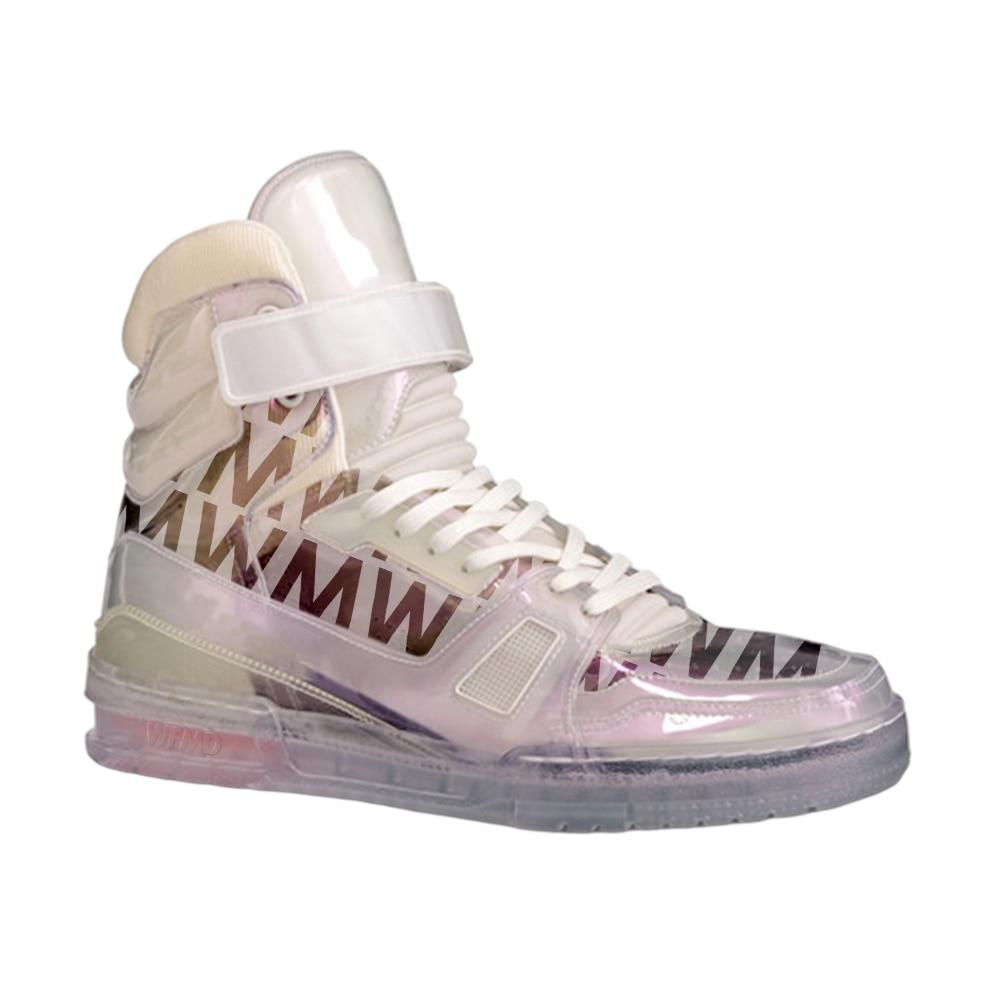 WFF L 21ss أحذية رياضية عالية المدرب أحذية رياضية # wfmd18C