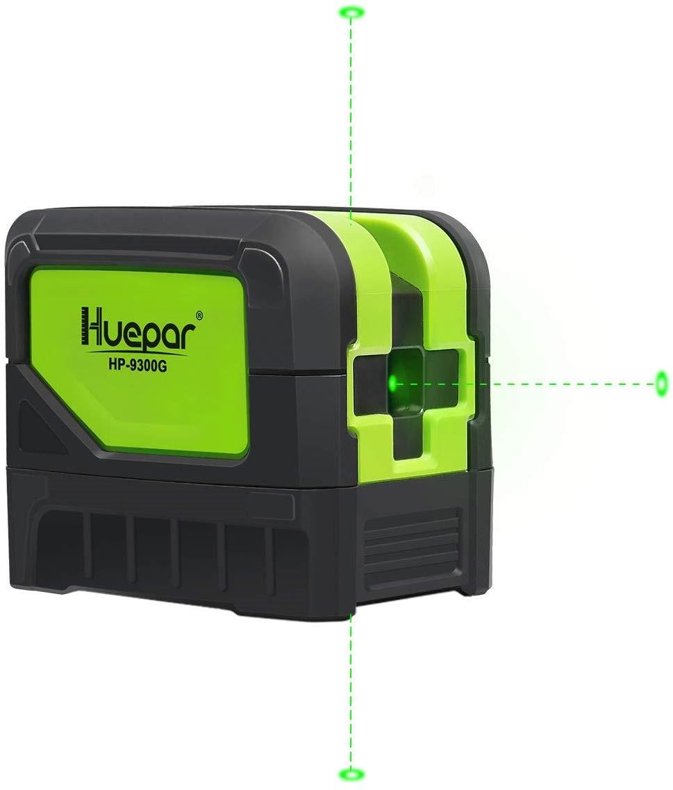Huepar 9300G 3 نقطة الليزر Self الإستواء الأخضر شعاع الليزر مستوى مع راسيا البقع ل حام و نقاط اليها المواقع