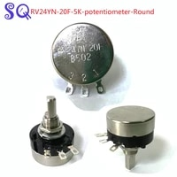 50pcslot rv24yn 20f 5k potentiometer round the racing car foot pedal potentiometer arcade game machine parts