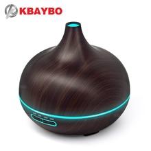 Kbaybo аромат увлажнитель воздуха Эфирное диффузор дерево Воздухоочистители Холодный Туман чайник натуральные растительные эфирные Масла дл...