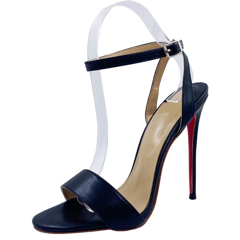 تخصيص اللون ماتي الجلود موجز X-عبر حزام 6 سنتيمتر/8 سنتيمتر/10 سنتيمتر/12 سنتيمتر سوبر عالية الكعب أحذية نسائية