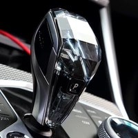 dropshipping crystal car gear shift knob for bmw 3 series g chassis g20 g28 2020 2021car interior accessories