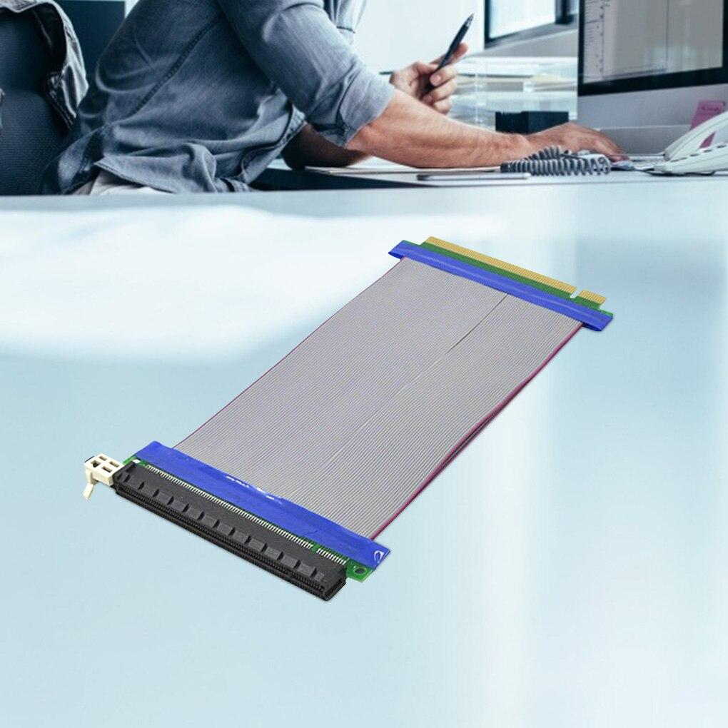 محول تمديد PCIE 16x ، كابل تمديد ذكر إلى أنثى ، مرن