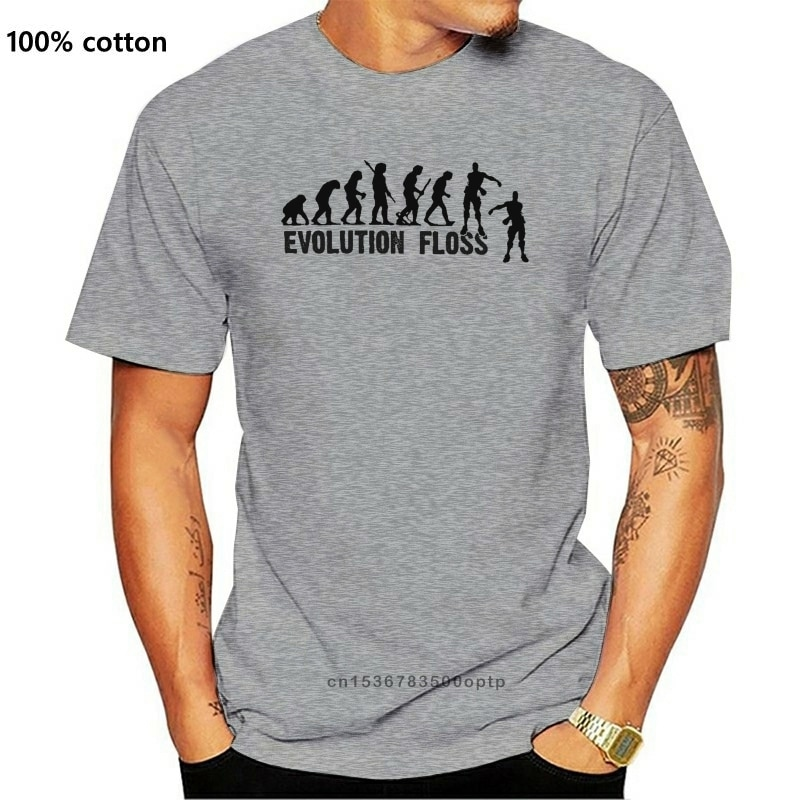 Evolution Floss T Shirt Mens Grey Soft Comfort Feel Tee Fortni 2020 Men T Shirt Fashion Tshirts Casu
