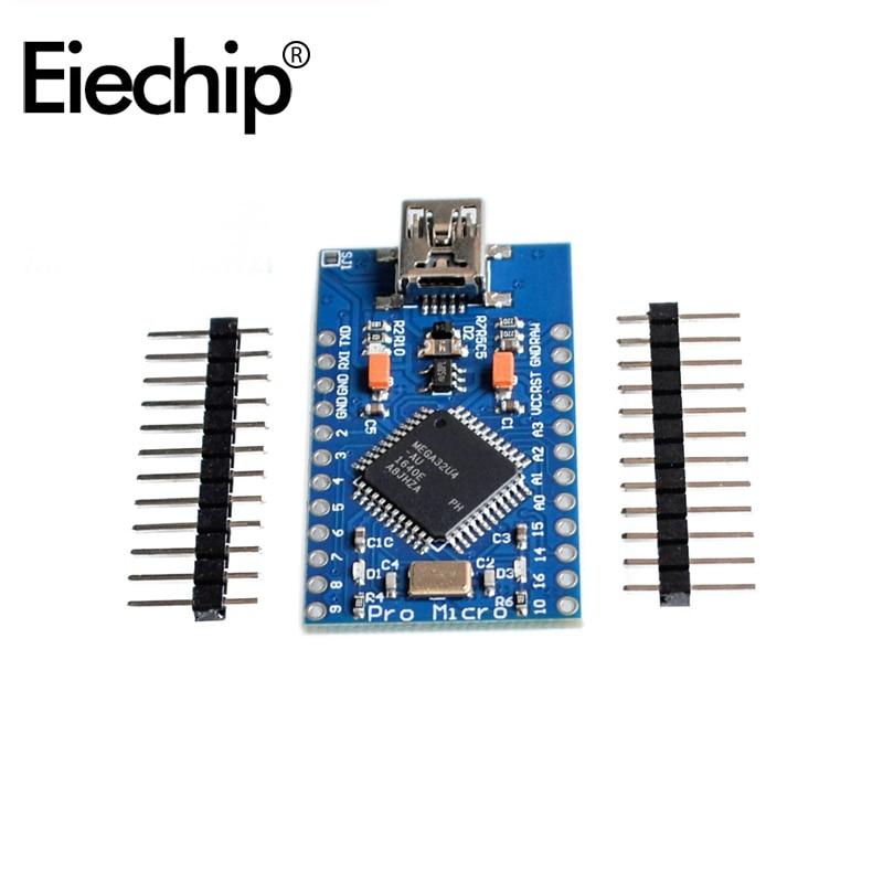pro Micro Development Board with header pro mini USB ATMEGA32U4 5V 16MHz  for Arduino Mega2560