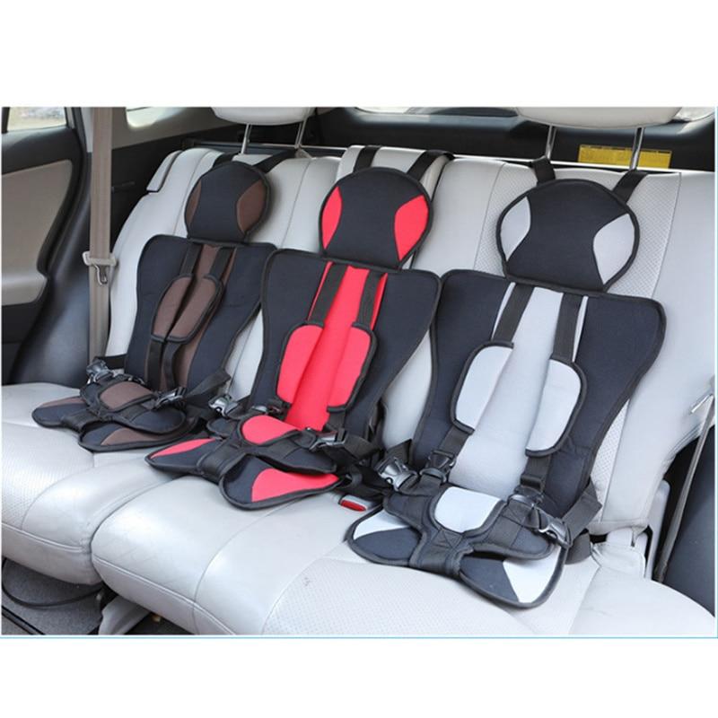 Автомобильное детское безопасное сиденье, защитная накладка с 3D пиком и сеткой, автомобильное детское защитное сиденье против столкновени...