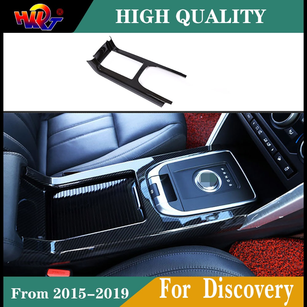 ABS carbon fiber colorGear large panel Cover Trim Interior Decoration Fit For Land Rover Discovery Sport 2015-2019 Car Styling