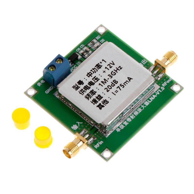 1-3000MHz 2.4GHz 20dB LNA RF Broadband Low Noise Amplifier Module UHF HF VHF K3KD