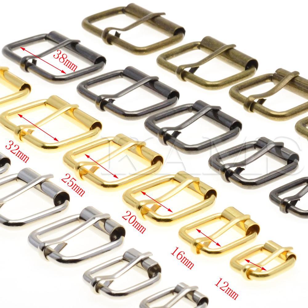5 шт. металлическая проволока в форме полуодного ролика пряжки ремня для ручной сумки обуви StrapRectangle кольцо кожа ремесло ремонт DIY Декор