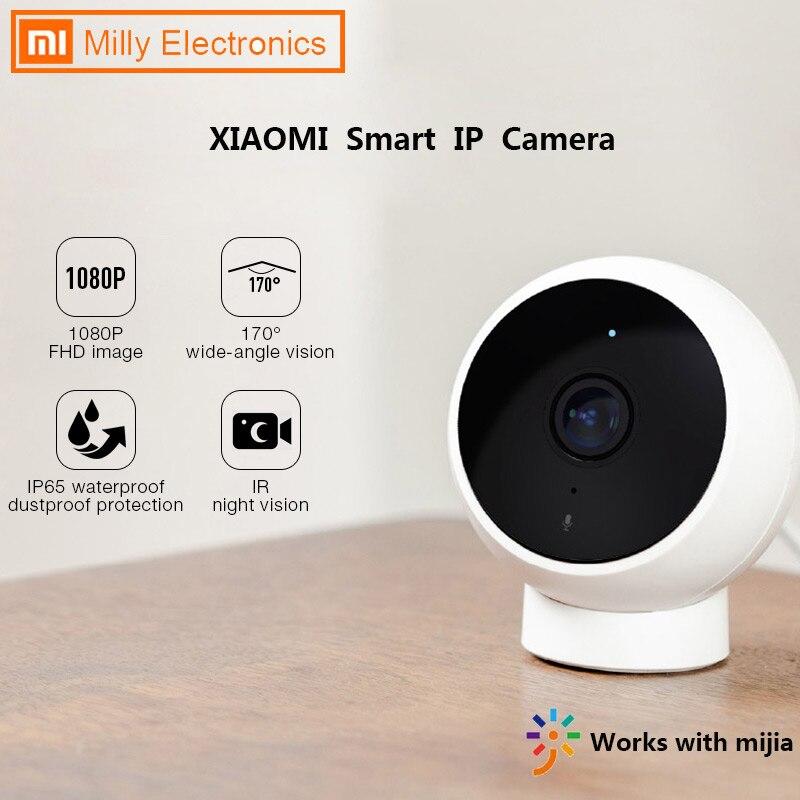 Xiaomi-cámara IP inteligente, para exteriores, IA, 1080P HD, ángulo de 170 °, IP65 IR, VERSIÓN NOCTURNA de Audio bidireccional, cámara de vigilancia WiFi