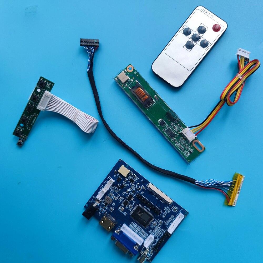 عدة تعمل لـ LP154W01(TL) 1280x800 لوحة تحكم 30pin شاشة سائق لوحة HDMI 2AV VGA AV شاشة LCD عن بعد
