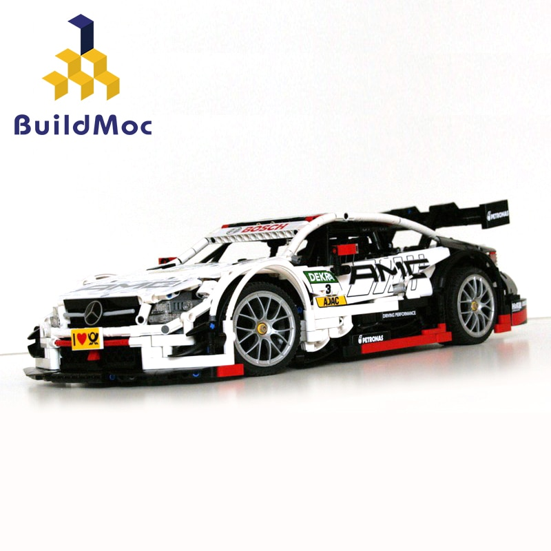 2500 Uds Diy bloques de construcción MOC técnica función de potencia Mercedes-Benzed G500 AMG C63 vehículos todoterreno juguetes para niños regalo