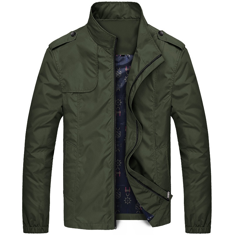 Nueva chaqueta Casual de color sólido 2020 M-4XL ropa de abrigo de...