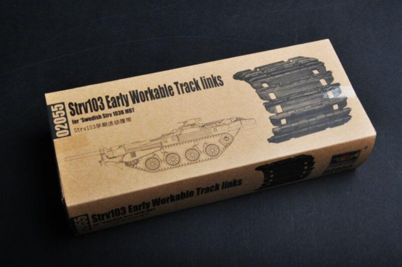 Нам Stock1/35 Трубач 02055 звено траковой цепи для раннего шведский Strv103 бак аксессуары TH05475-SMT2