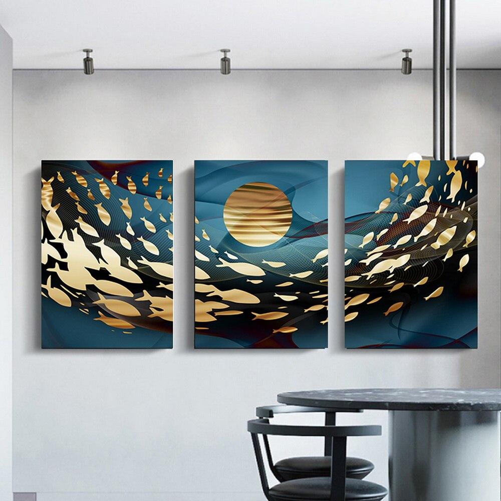 Cuadros de decoración para sala de estar, arte para salón de belleza, mural kawaii