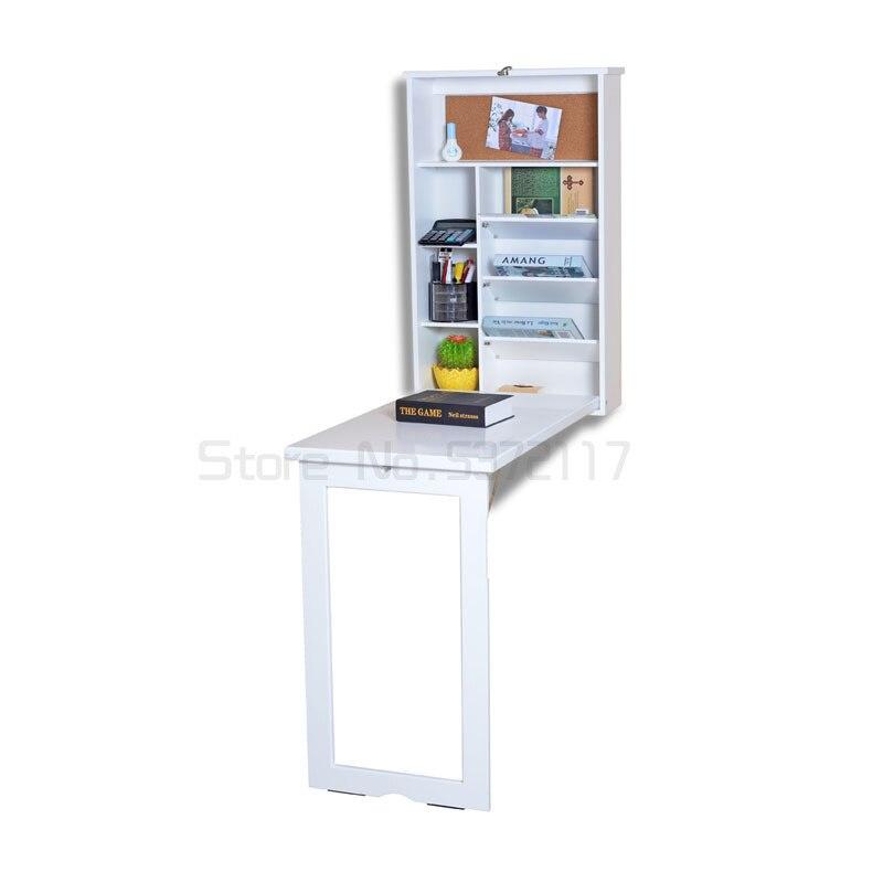 طاولة معلقة على الحائط قابلة للطي مكتب أوروبي متعدد الوظائف للأطفال تعلم طاولة معلقة على الحائط مكتب قابل للطي
