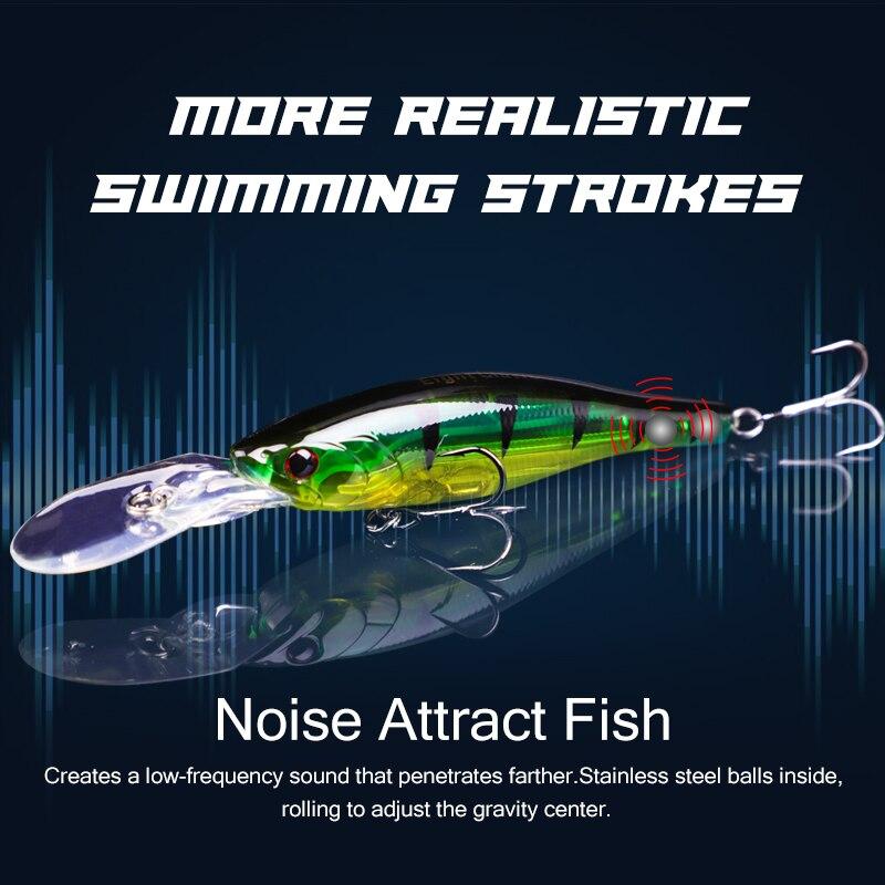 EIGHT CLAWS 150F Floating Minnow Plastic Hard Fishing Lure Jerkbait 150mm 27g Long Shot Crankbait Wobbler Pesca Isca Swimbait enlarge