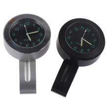 1PC Universal Accessories Motorcycles Clock Watch Alluminum Alloy Dial  For Motorcycle Handlebar Mou